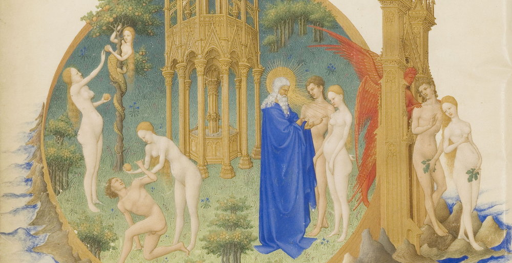 From the Très Riches Heures, 1411-16, by le duc be Berry, in the Musée Condé (Wikimedia Commons)