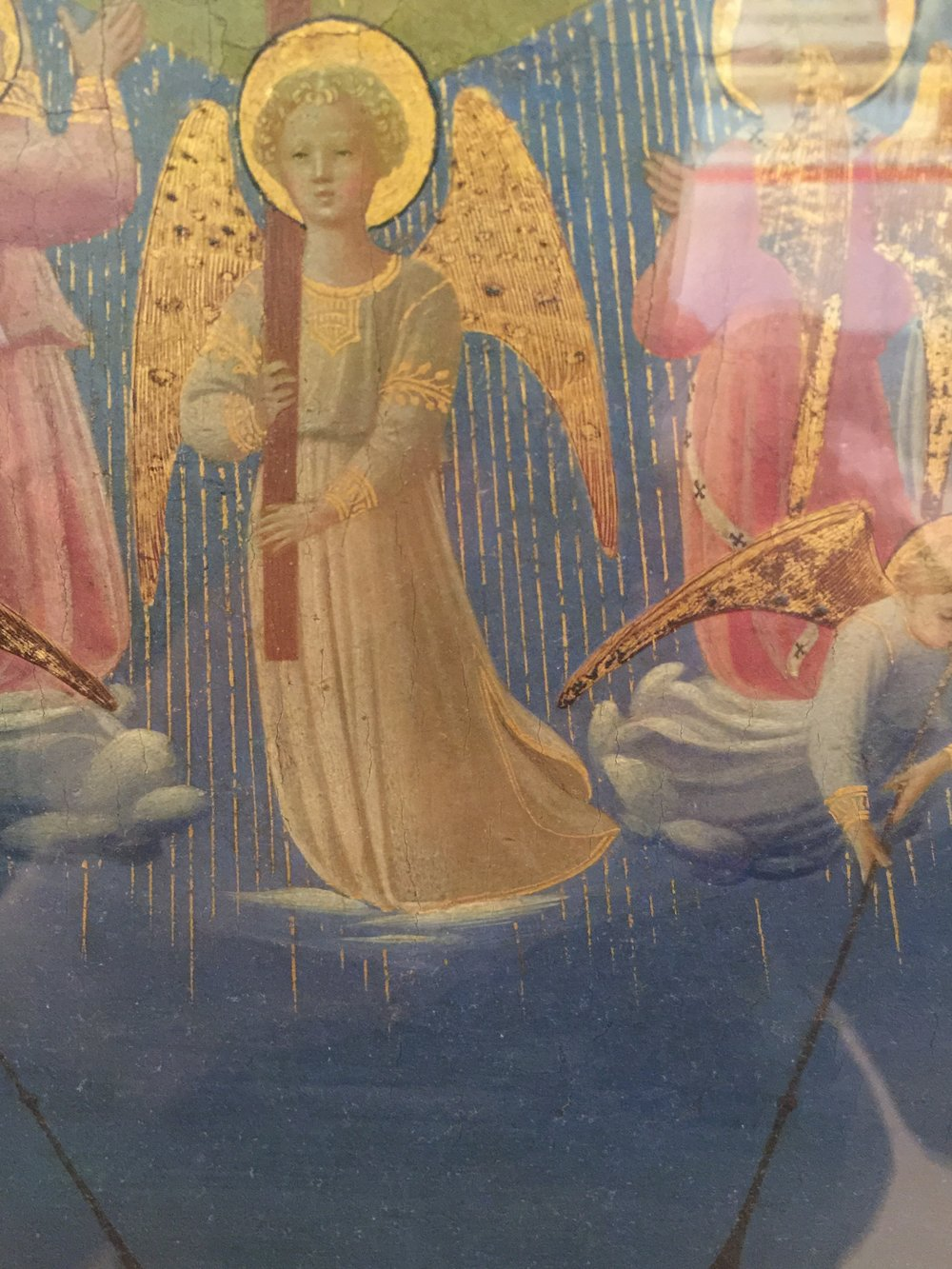 Last Judgement , Beato Angelico (Guido di Piero), third decade of 15th Century, Museo Nazionale di San Marco