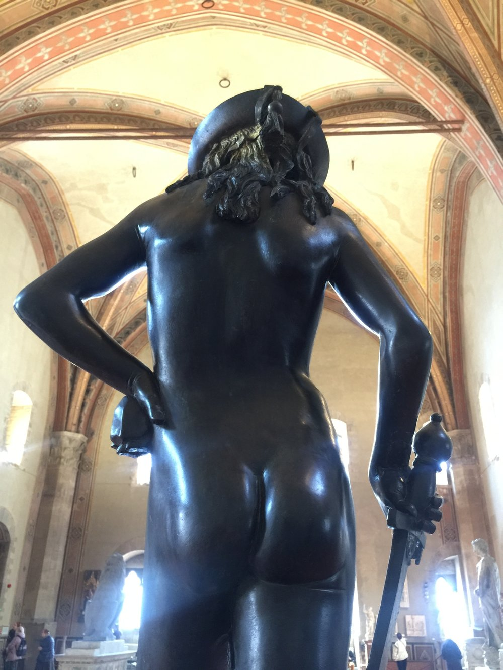 David , 1408-9, Donatello, Bargello Museum
