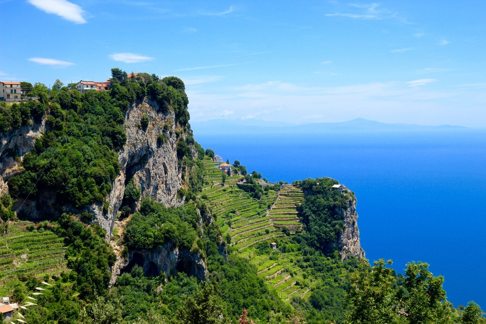 This part of the Campania is included in the UNESCO's World Heritage List.