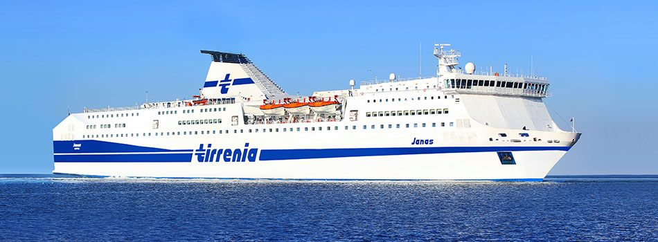 Tirrenia Ferry Crossing (Civitavecchia to Cagliari)  - 1 night