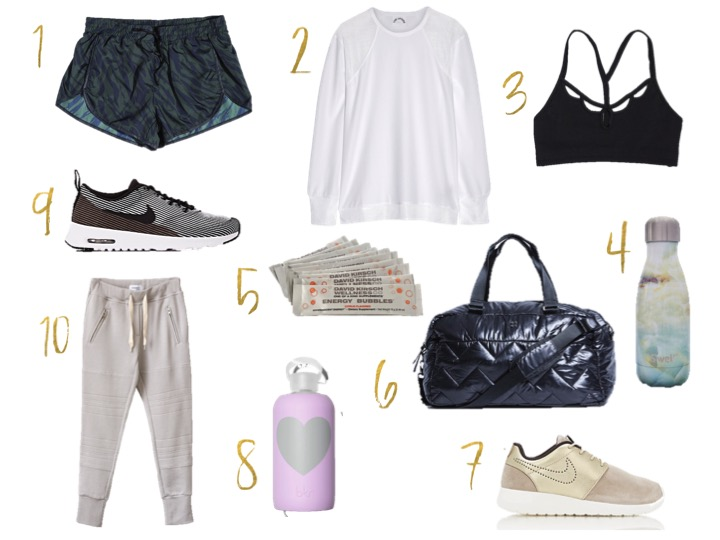 swell bottle, sincerelyjules bottoms, nike air max sneakers, bk. bottle,  moonshadow bra black