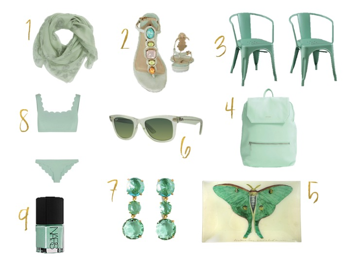 Mint Green Gift Items