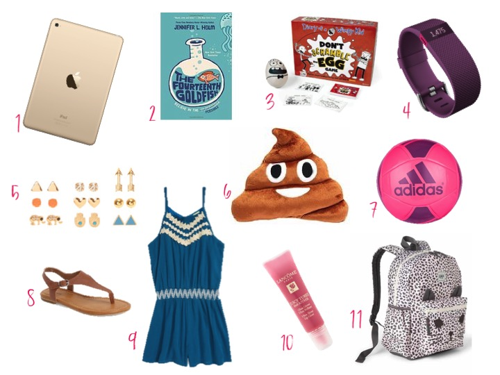 BIRTHDAY GIFTS FOR GIRLS AGE 10