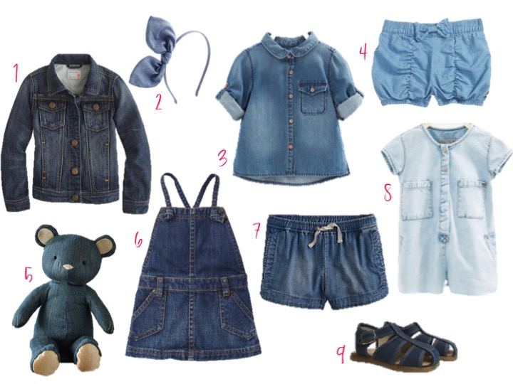 Denim for baby girl
