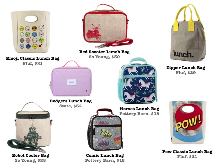 BACK TO SCHOOL LUNCH BAGS