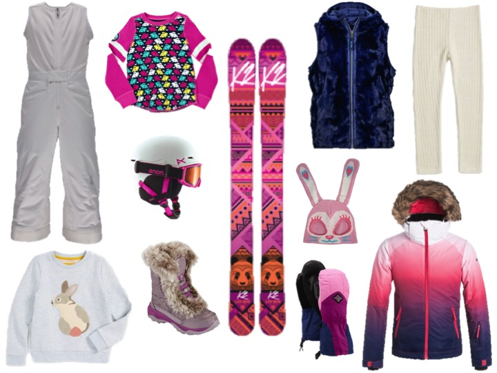SKI BUNNY GIFTS FOR GIRLS