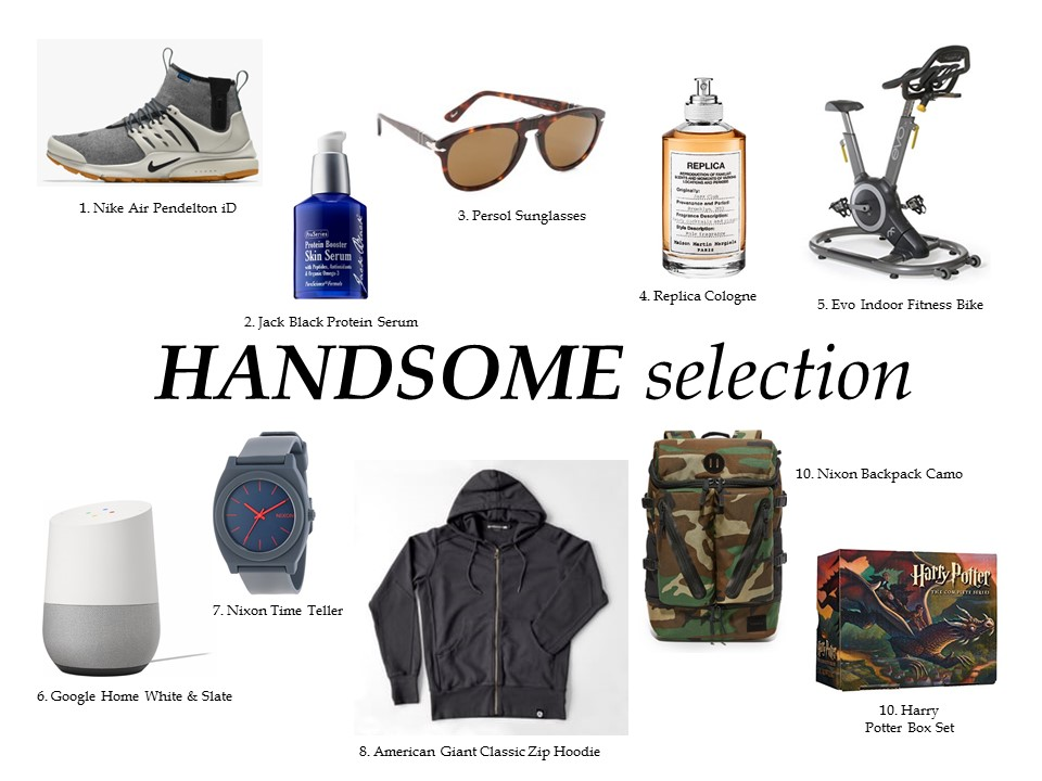 GIFT FOR MEN HOLIDAY GIFT GUIDE, Men's Gifts