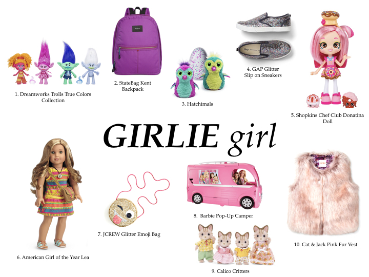 GIFT GUIDE GIRLS