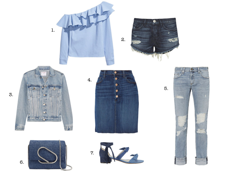 7 DENIM ITEMS WE LOVE