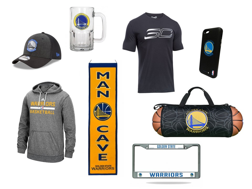 gifts for him warriors fan
