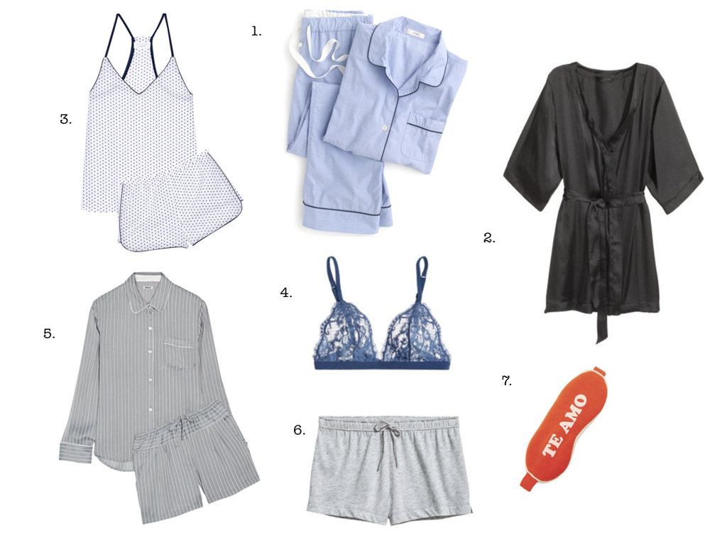 7 SLEEPWEAR ITEMS WE LOVE