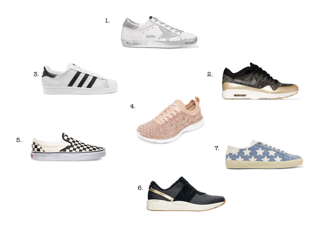 7 SNEAKERS WE LOVE