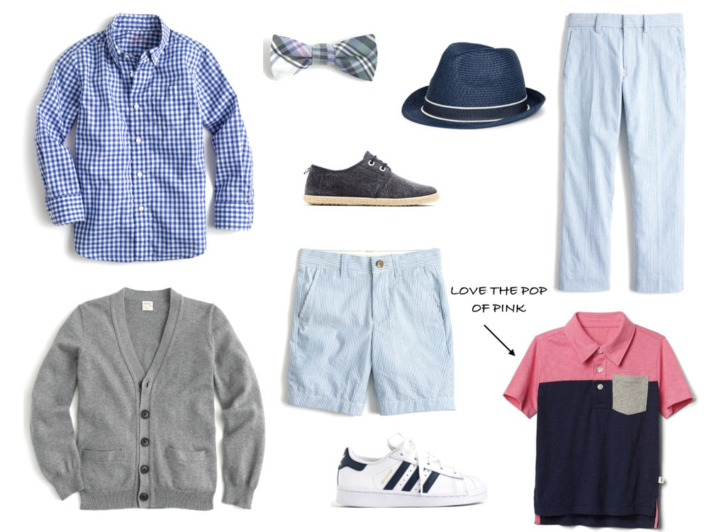 WHAT TO WEAR BOYS