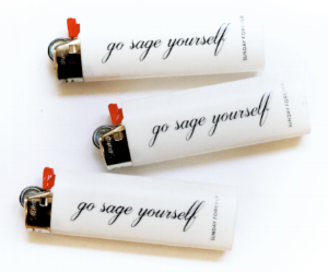 GO SAGE YOURSELF LIGHTER