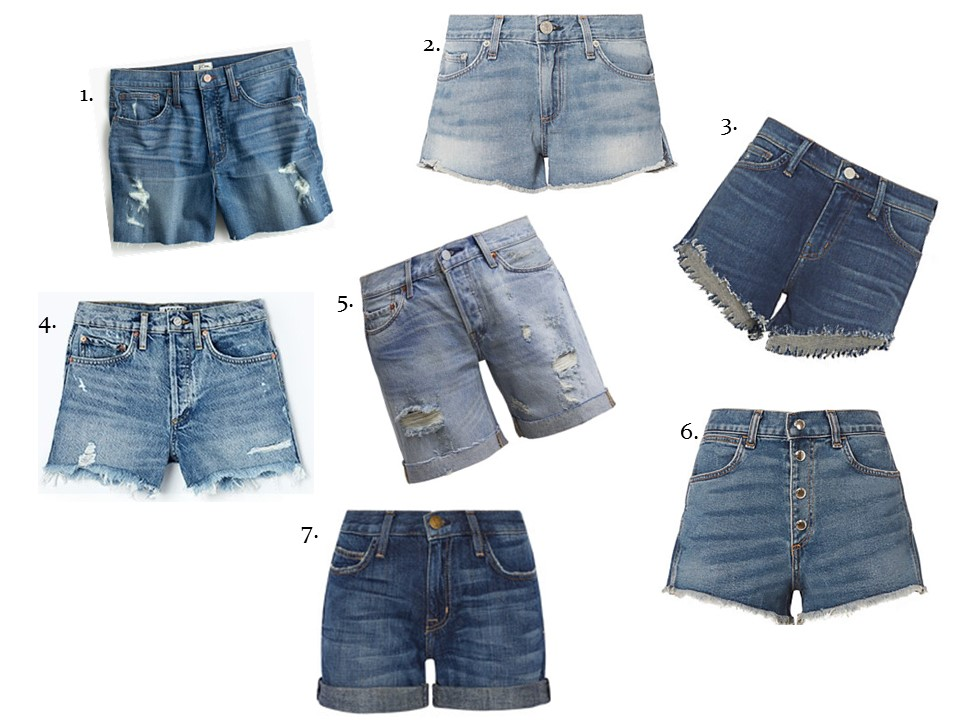 DENIM SHORTS FOR SUMMER