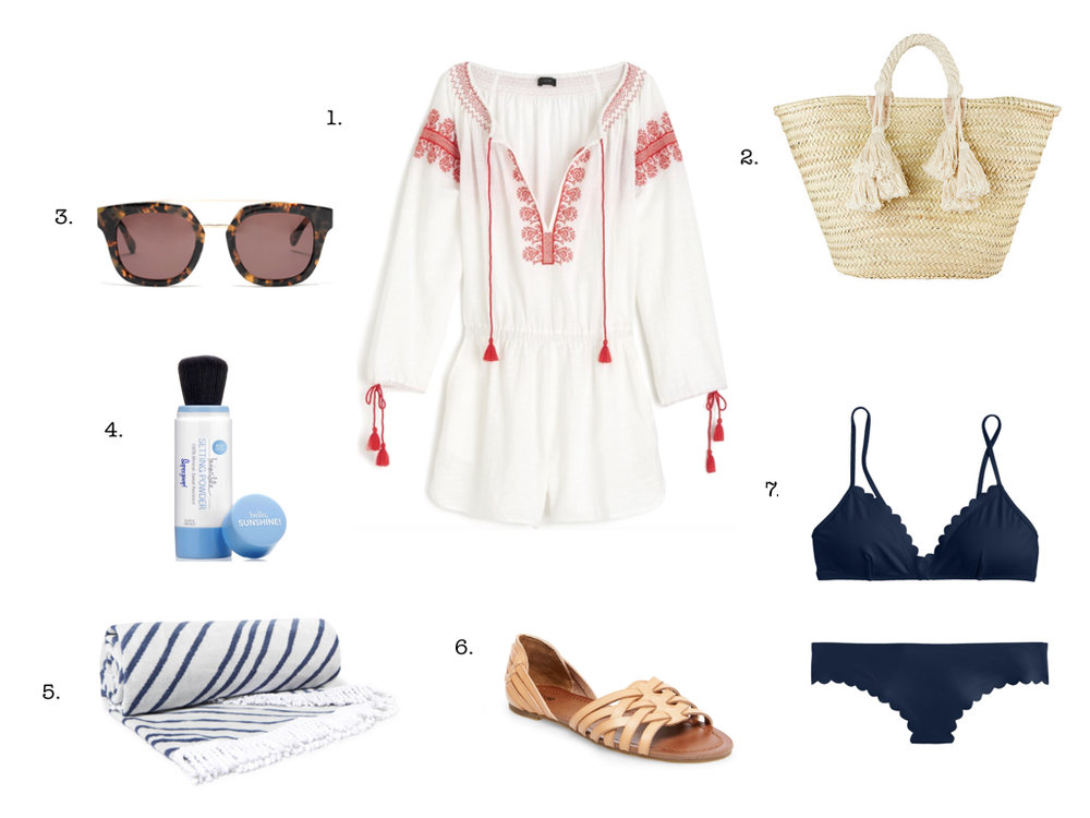 7 THINGS WE LOVE FOR THE BEACH