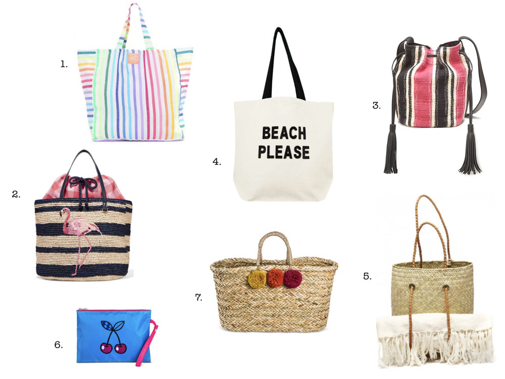 7 BEACH BAGS WE LOVE