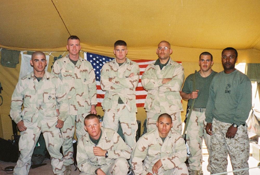 Tyson's Marine Corps squad