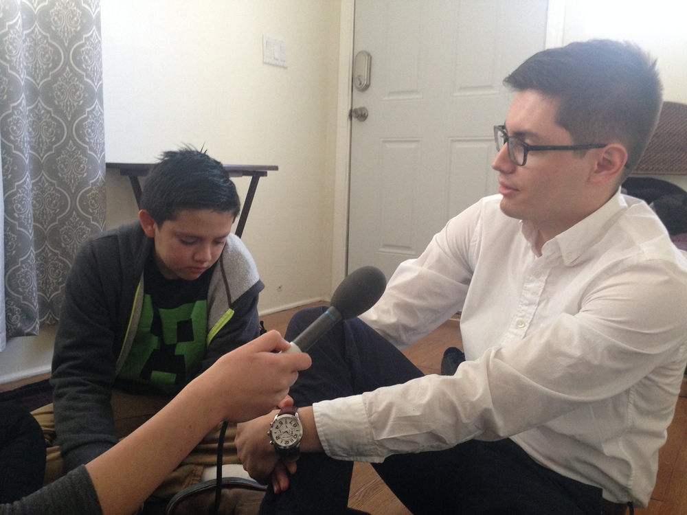 Bobby de la Rosa (left) and his older brother Bill (right) during our interview