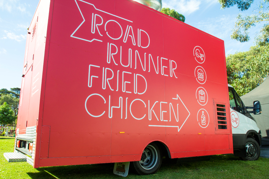 Road Runner Fried Chicken Annieworks