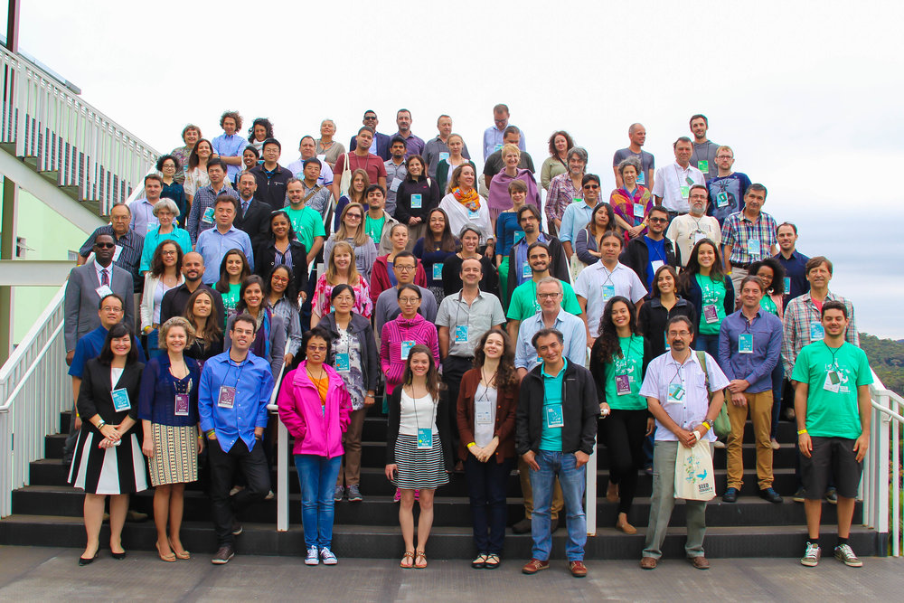 Group picture of the participants at the Seed Ecology V conference. (Picture by Stefanie Frischie)