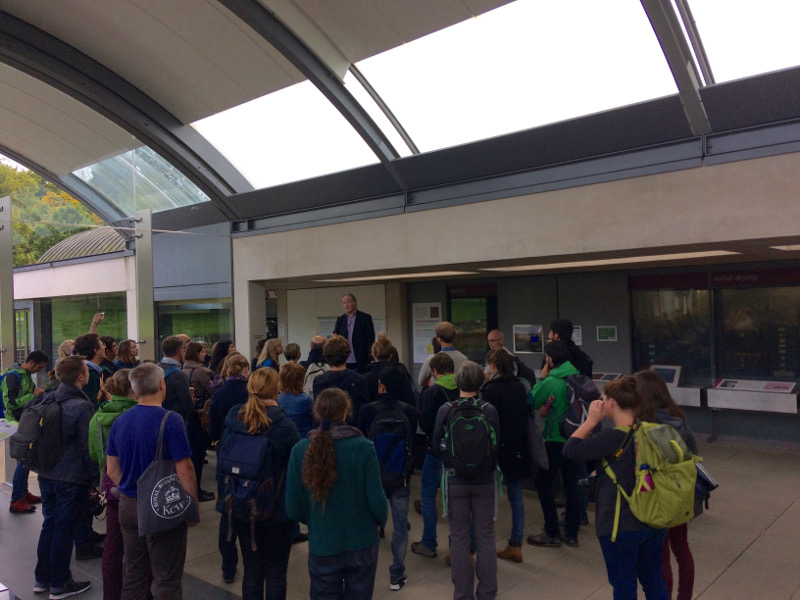 Visit at the Millennium Seed Bank in Wakehurst Place
