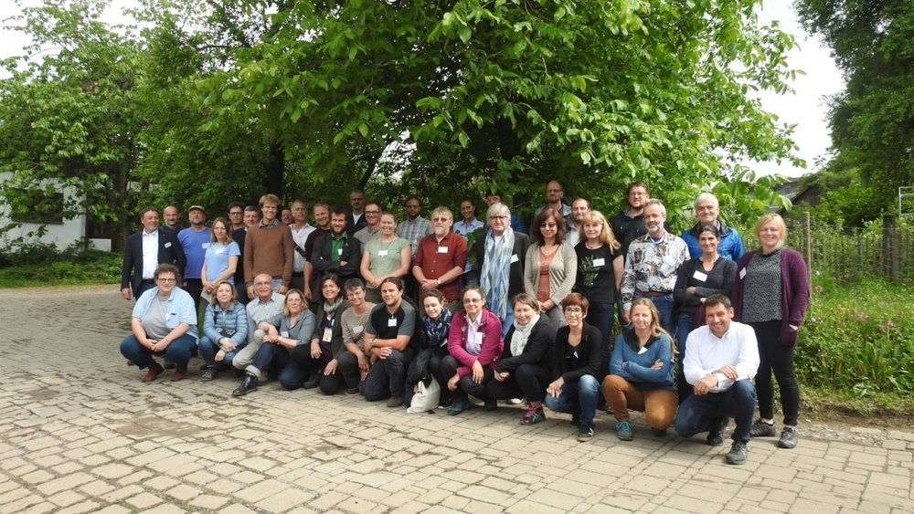 "Participants to the meeting for the formation to the ""European Native Seed Producers Association"""