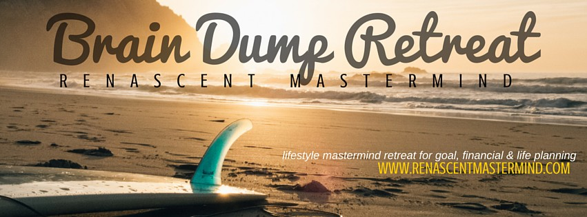 "More info to come with EventBrite link. Sept 17-20 at Grand Lake, Oklahoma Brain Dump Retreat for Renascent Mastermind. This is a lifestyle mastermind retreat for goal, financial and life planning.  Ever wonder why you find it so hard to unlearn things, turn your dreams into reality and build a successful future full of rewards and wealth? Maybe you have been doing it all wrong. At this brain dump retreat, you will reach into your inner mind and heart and ask the big questions ""what, how & why"" on all levels of your life. The process will ask your brain the questions and you will receive your answers. Be prepared to receive unfiltered answers. Plus, we spend most of the time relaxing & hanging out with like-minded individuals. It's all about the conversation! Renascent Mastermind entrepreneurs: Lifestyle design, mentoring, business coaching, real estate investing, investing, 4HWW, automation, accountability and more. www.renascentmastermind.com We have been coaching for over 10+ years and this is our rebranding of ourselves. In the past, ALL of our coaching students came from word of mouth and referrals."