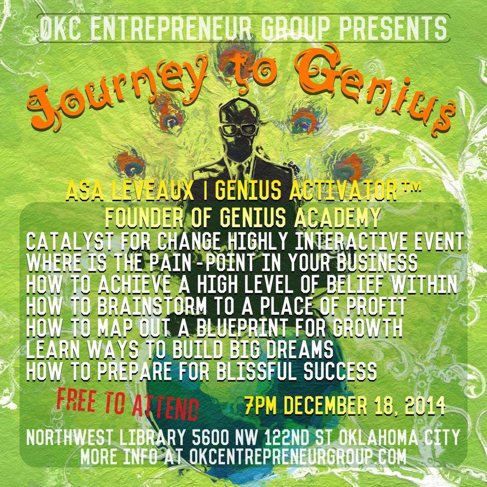 Asa Leveaux Journey to Genius OKCEntrepreneurGroup SM.jpg