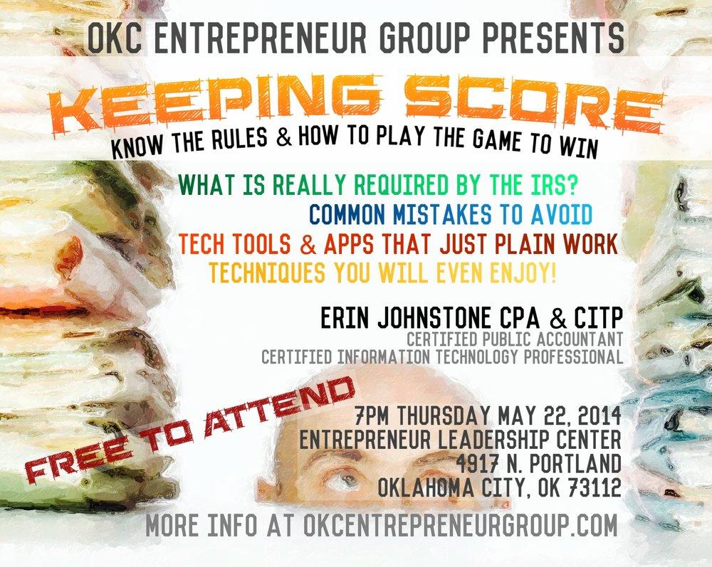 OKC Entrepreneur Group Meetup May 22 2014 .jpg