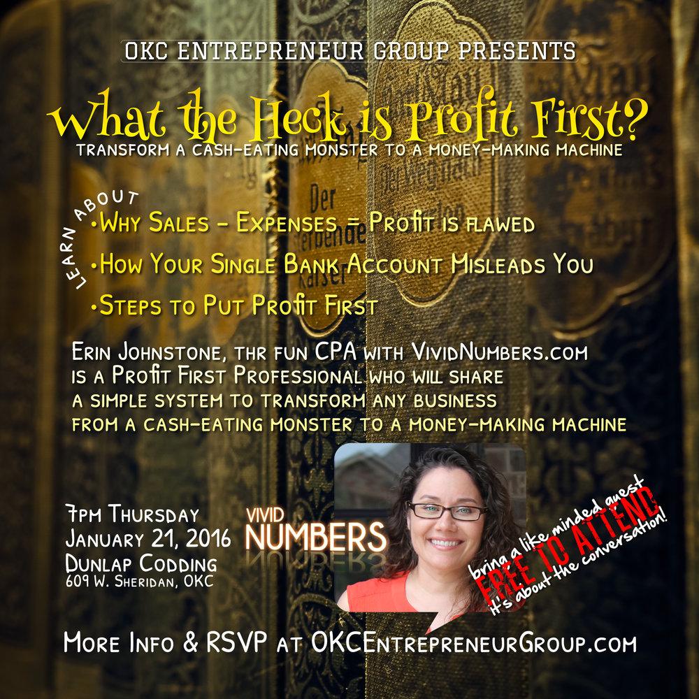 What the Heck is Profit First Erin Johnstone CPA Vivid Numbers #okceg.jpg