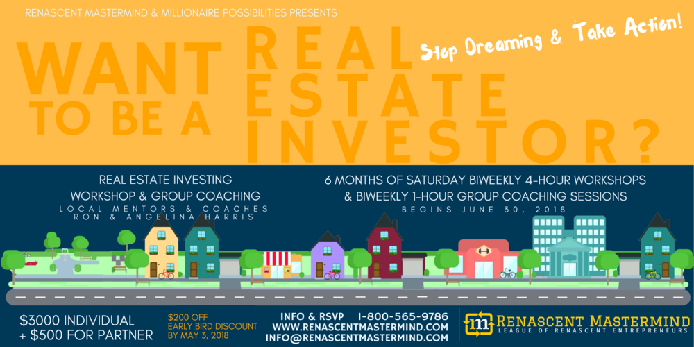 Want to be a real estate investor?