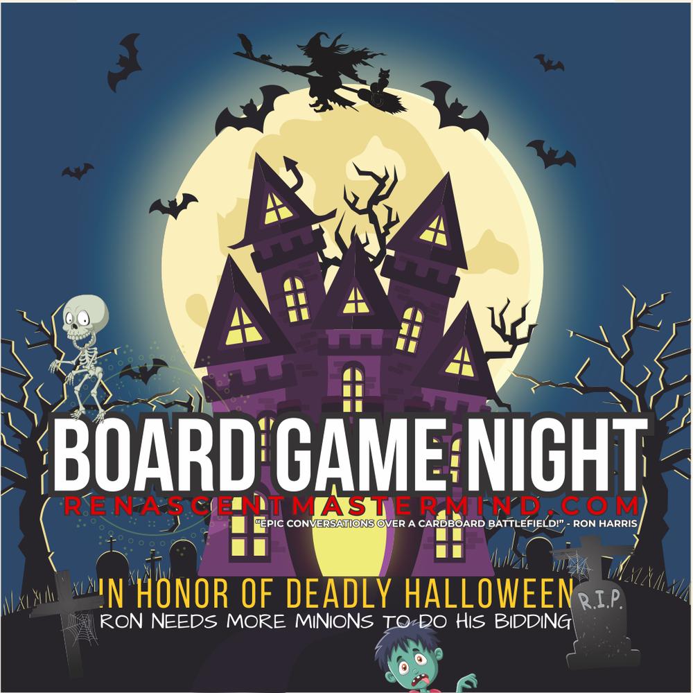 Renascent Mastermind Board Game Night - Halloween