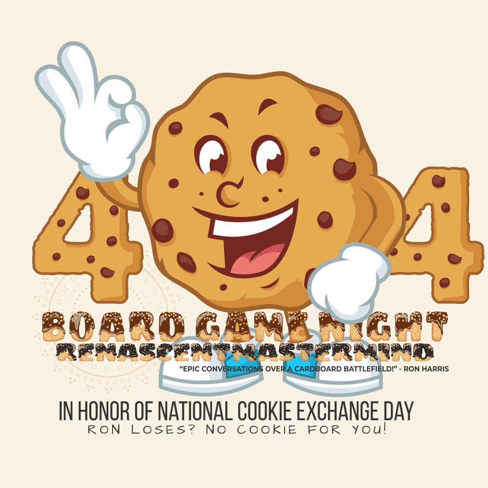 Board Game Night: National Cookie Exchange Day