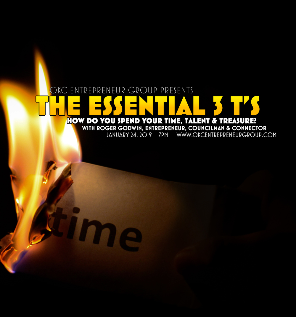 Copy of The Essential 3 T's: How do you spend your Time, Talen & Treasure?