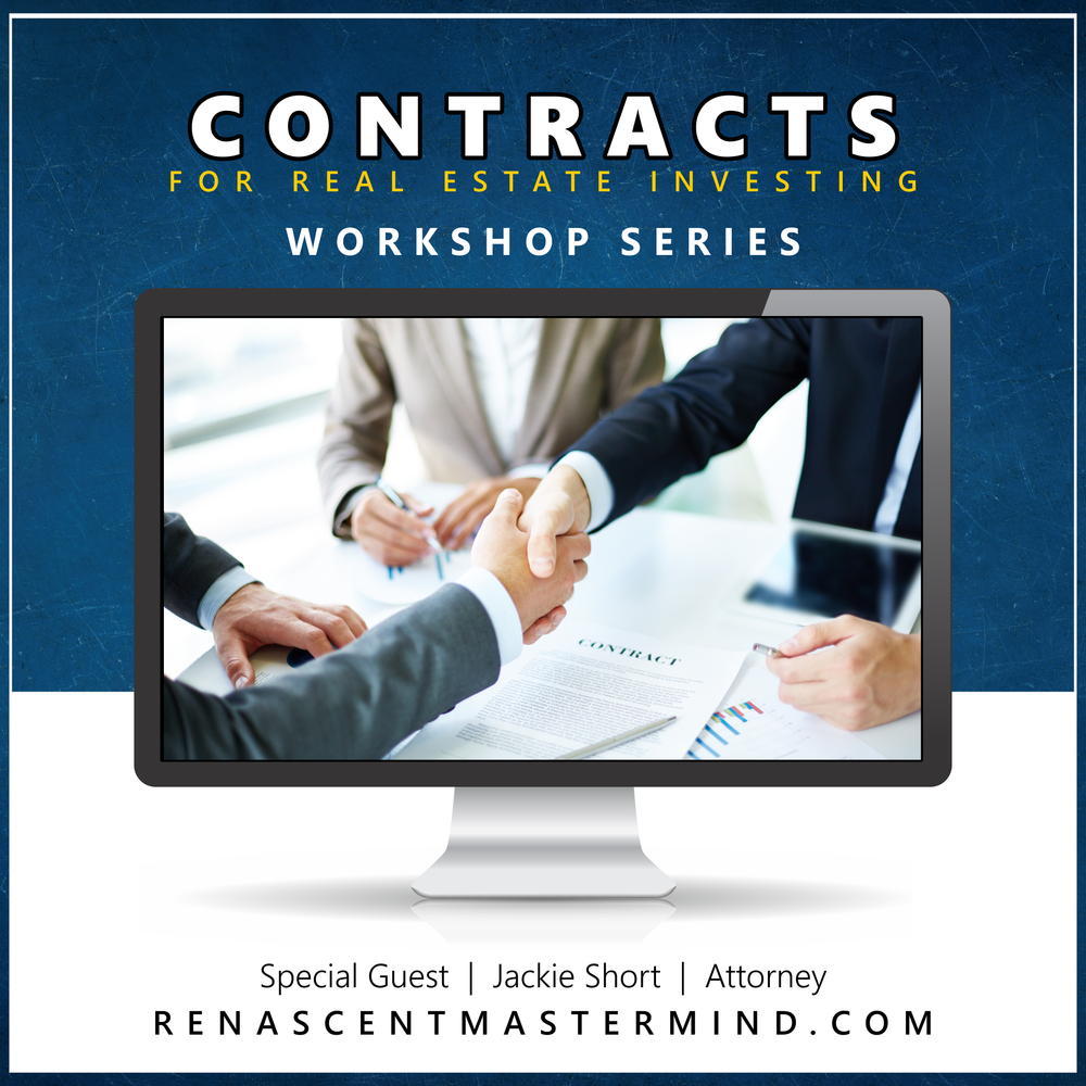 Contracts with Jackie Short, Real Estate Attorney   Workshop Series