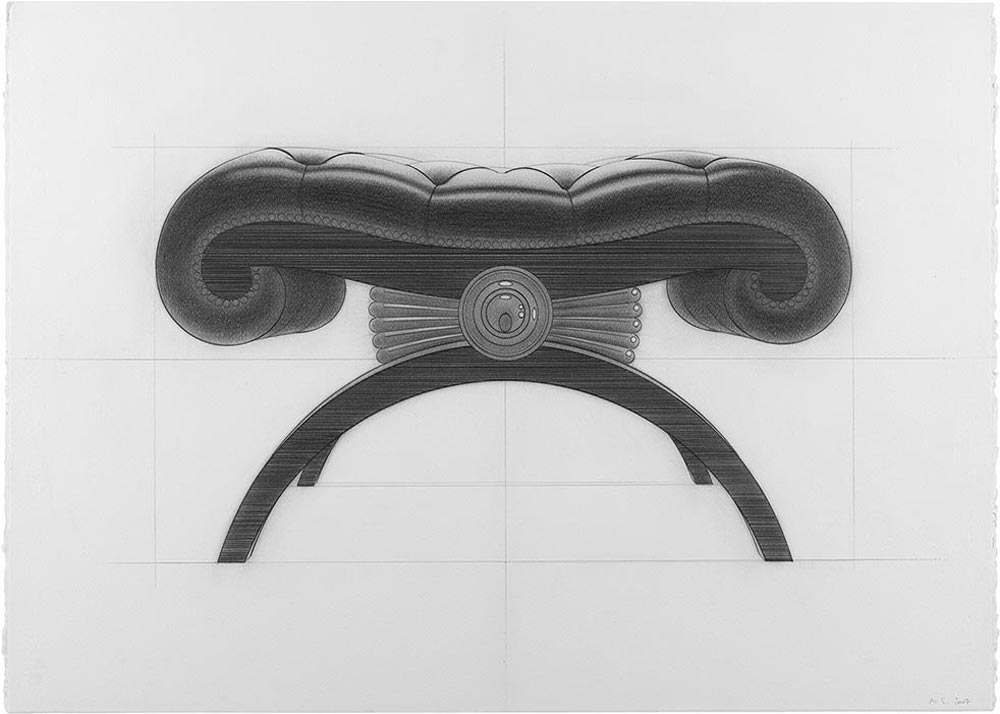 Tomp 2007.Graphite / paper, 50 x 70 cm