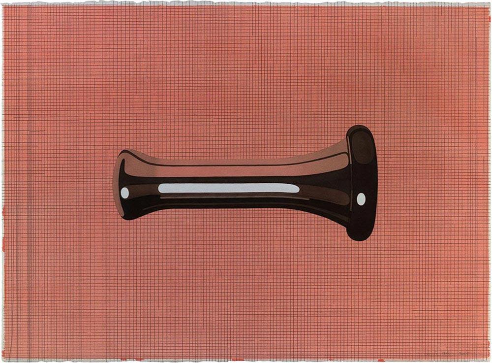 El Prat 2, 2006. Watercolor and graphite/ paper. 56 x 76 cm