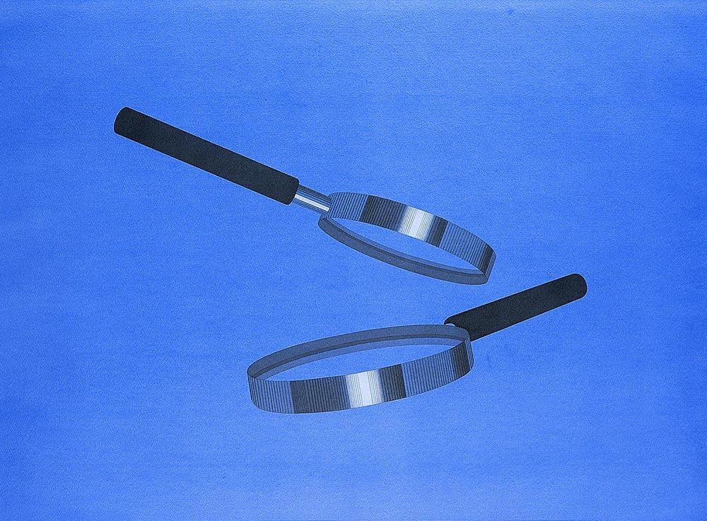 Sur B, 2001 - 2003. Watercolor, graphite / paper. 56 x 76 cm