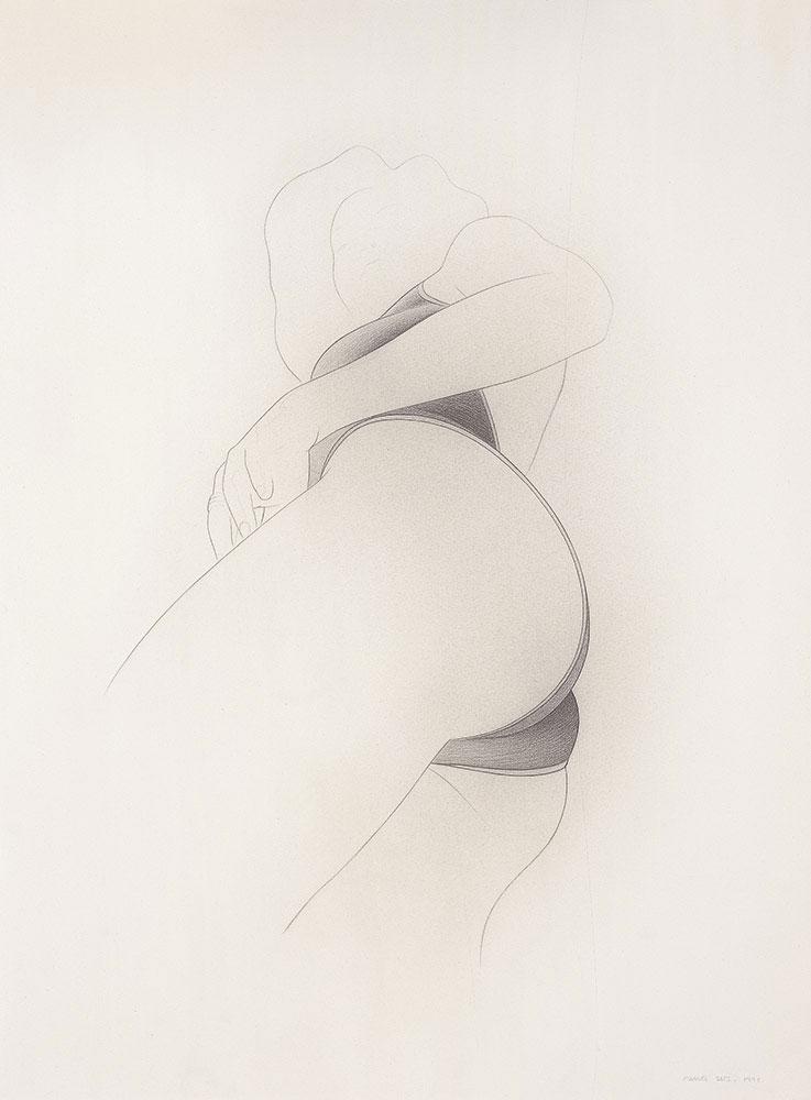 Nevera 1998.Graphite / paper, 75 x 56 cm