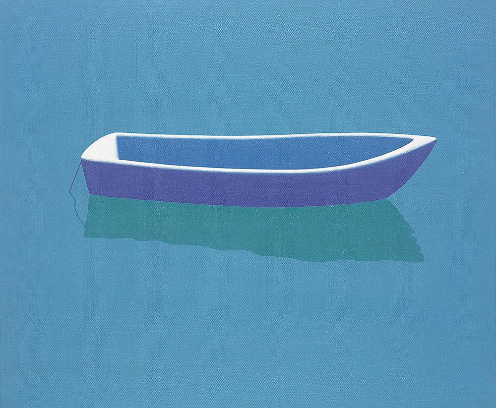 Tromsø, 1997. Acrylic / canvas. 45 x 56 cm