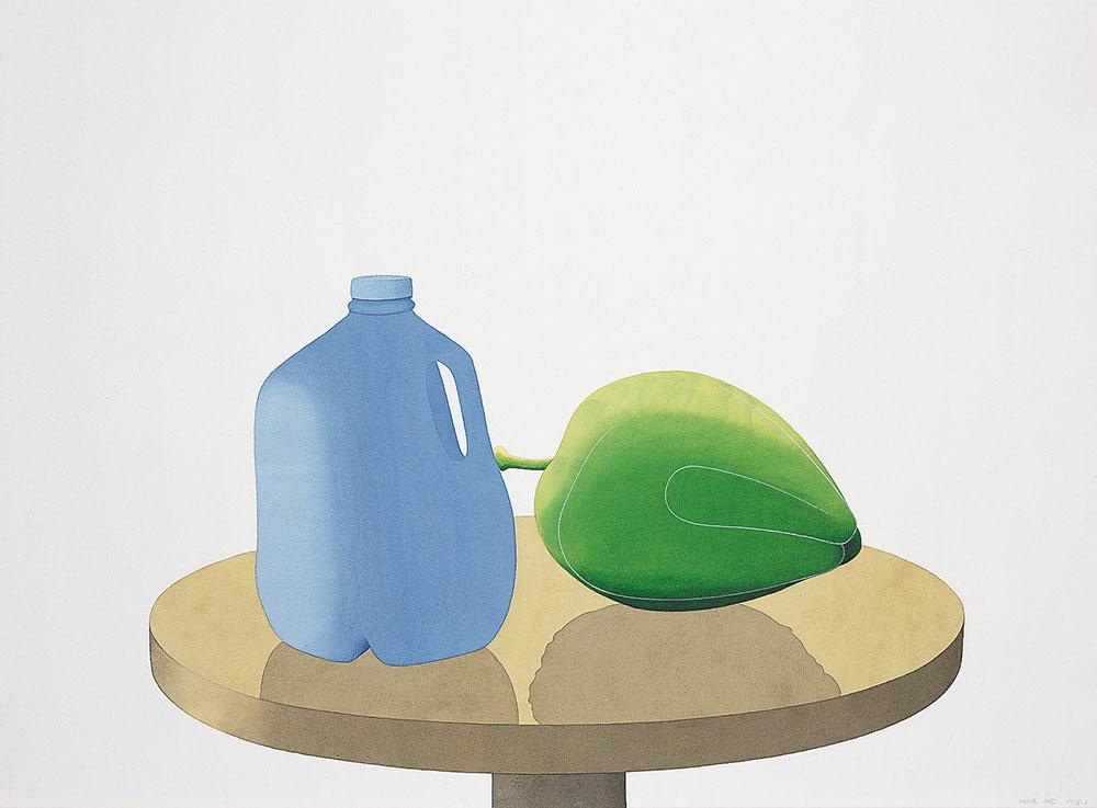 Galón, 1995-1996. Watercolor / paper. 56 x 76 cm
