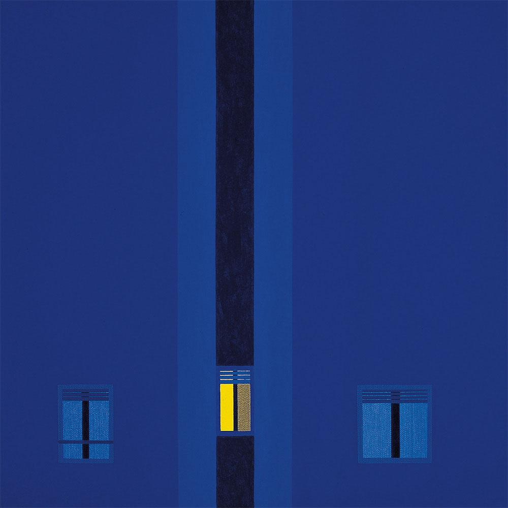 Nocturno 1993. Acrylic / canvas, 55 x 55 cm
