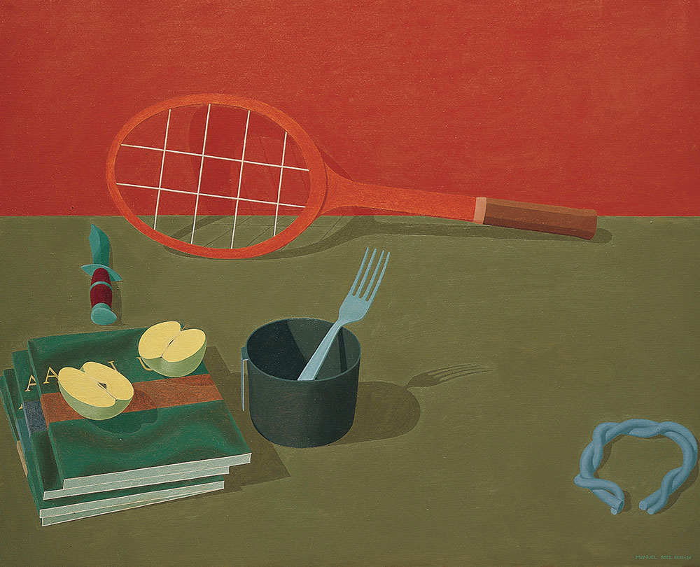 McEnroe, 1986. Oil / canvas. 81 x 100 cm