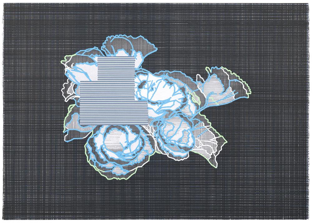 Nudo , 2016-2017. Lápiz y témpera sobre papel, 50 x 70cm.