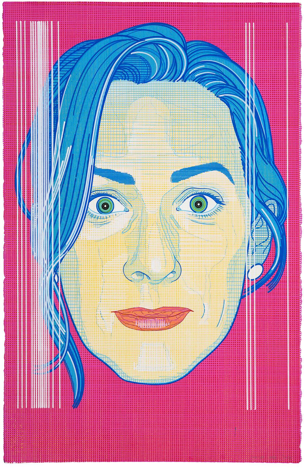 Anatomía de la influencia (3) , 2017. Acuarela y témpera sobre papel, 102 x 66 cm.