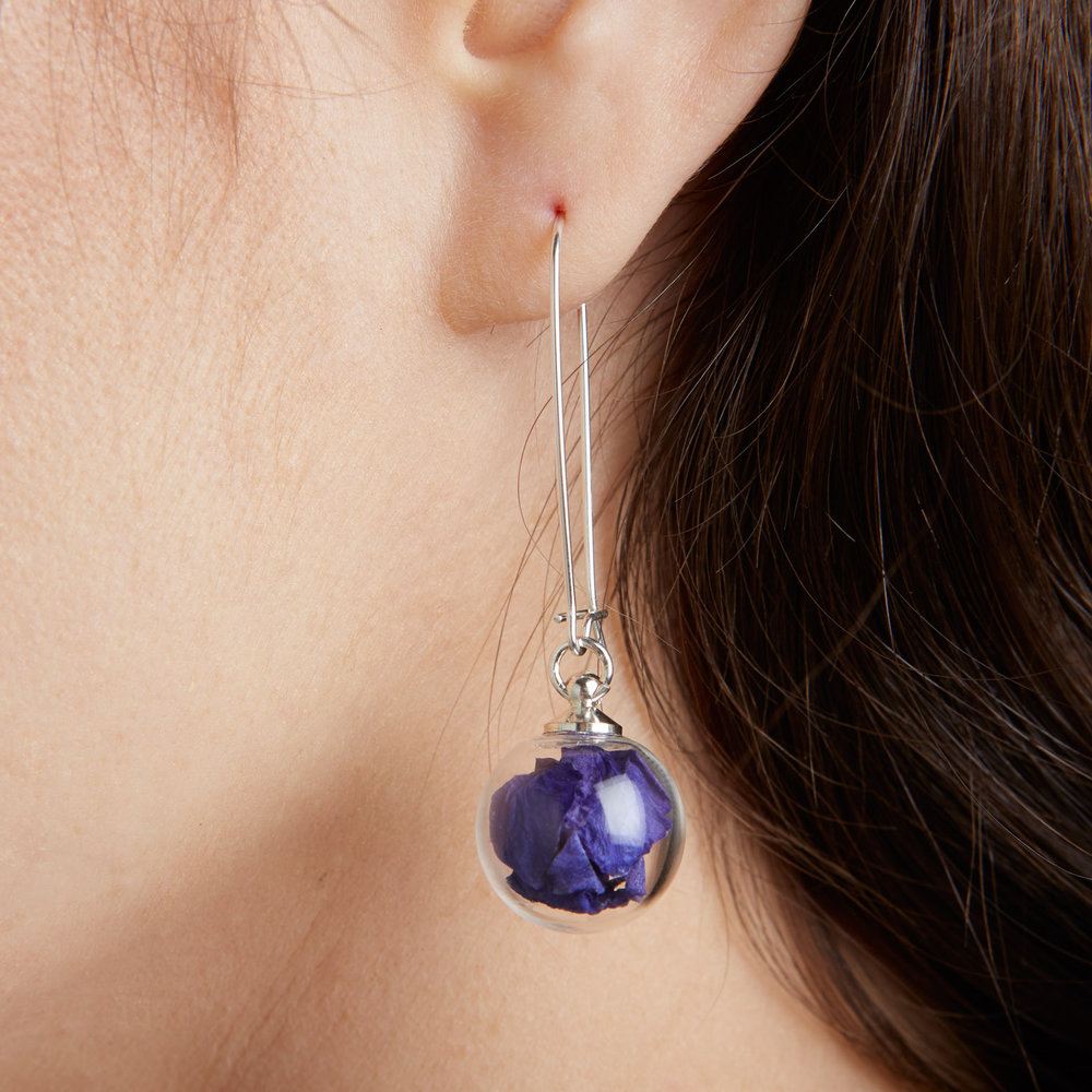 Earrings - Sterling Silver Studs and Drops