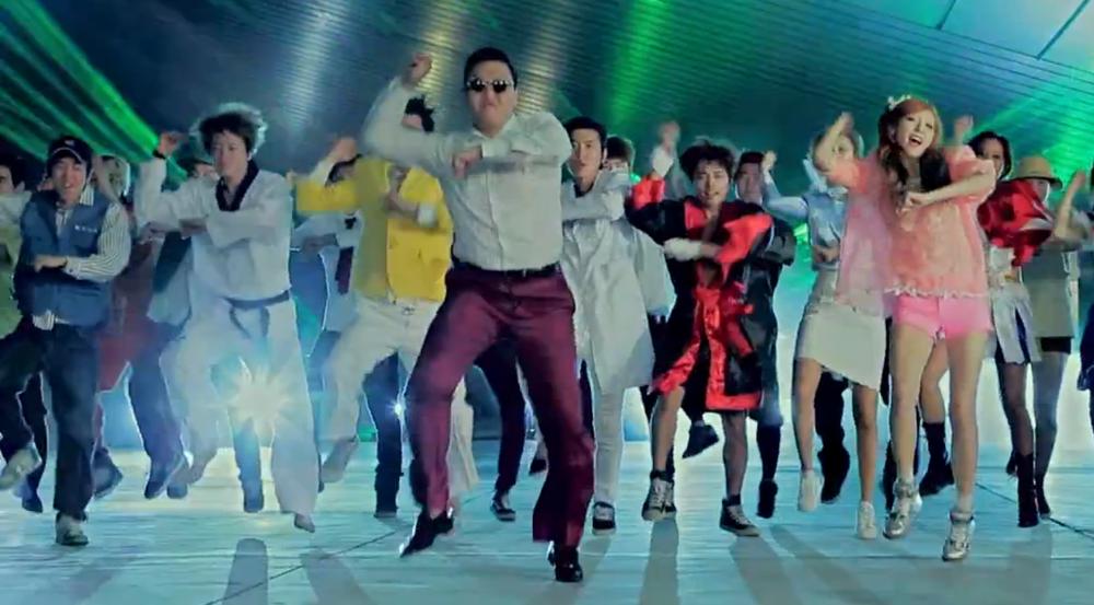 Gangnam Style (Image:YouTube)