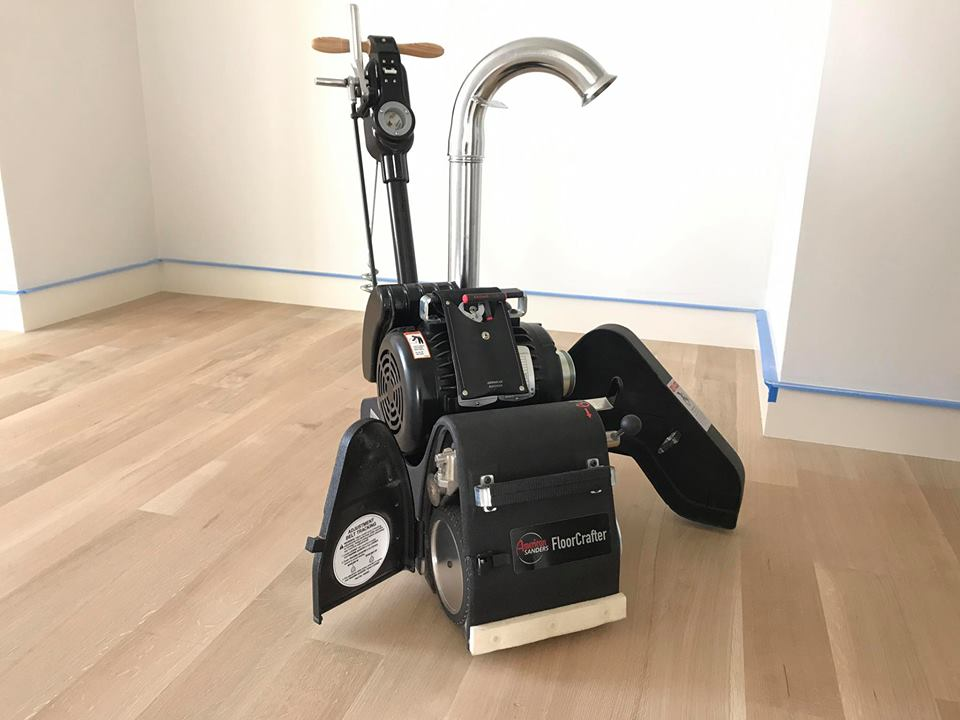 GQ Hardwood Floors' newest machine addition